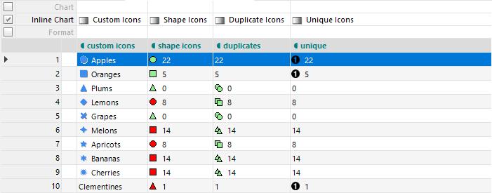 All Icons Status